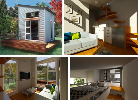 Merveilleux NOMAD Micro Homes Make Sustainable Living Homes.