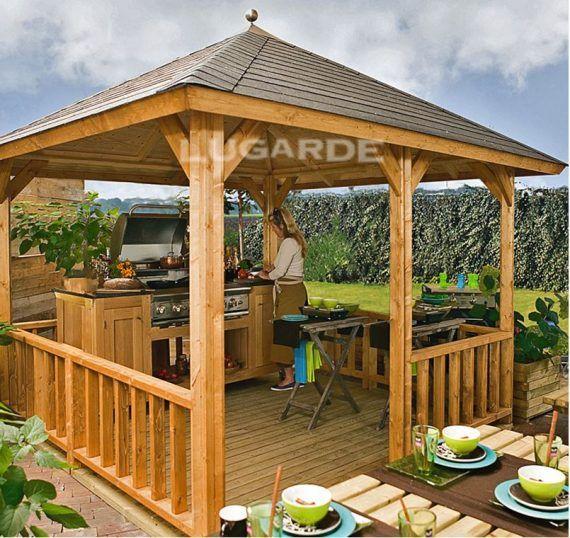 Garden Gazebo | Built with the best wood | Lugarde