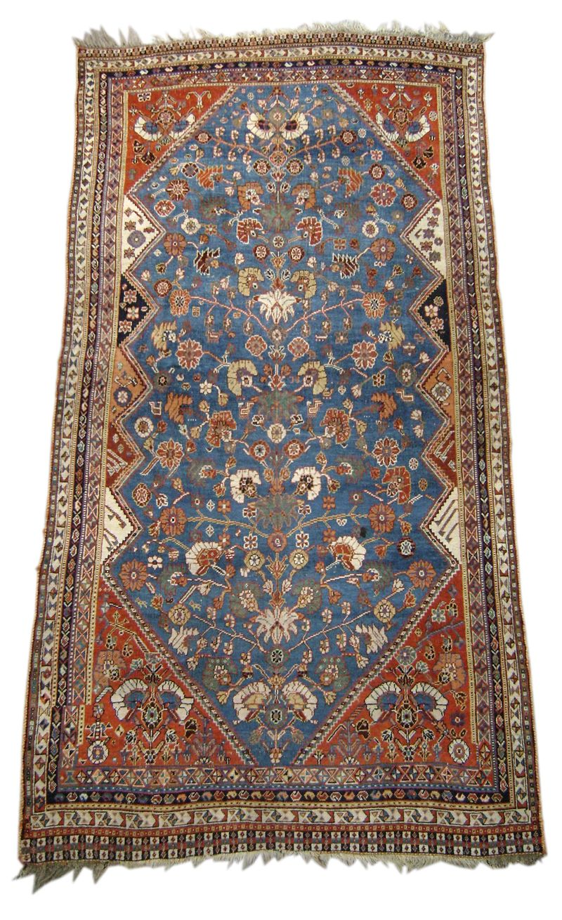 Hand-tufted Floral Wool Area Rug (7'6 x 9'6) - Free Shipping Today -  Overstock.com - 17701882