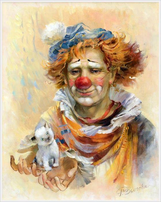 PEINTURE ET ART L' Art du Clown!