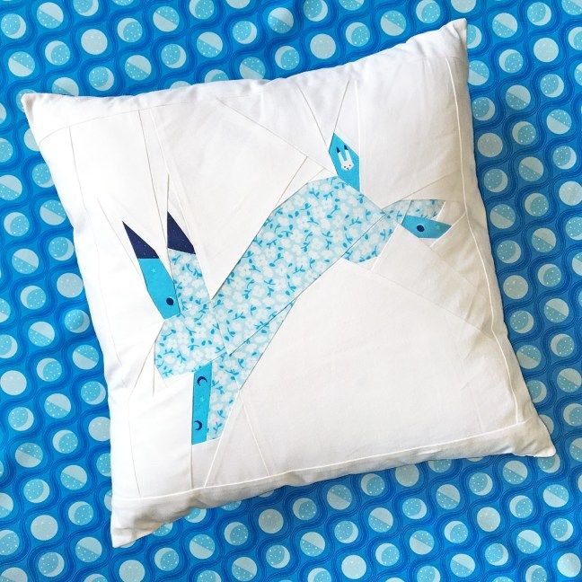 Bunny Sewing Pattern | Cushions We Love | Pinterest