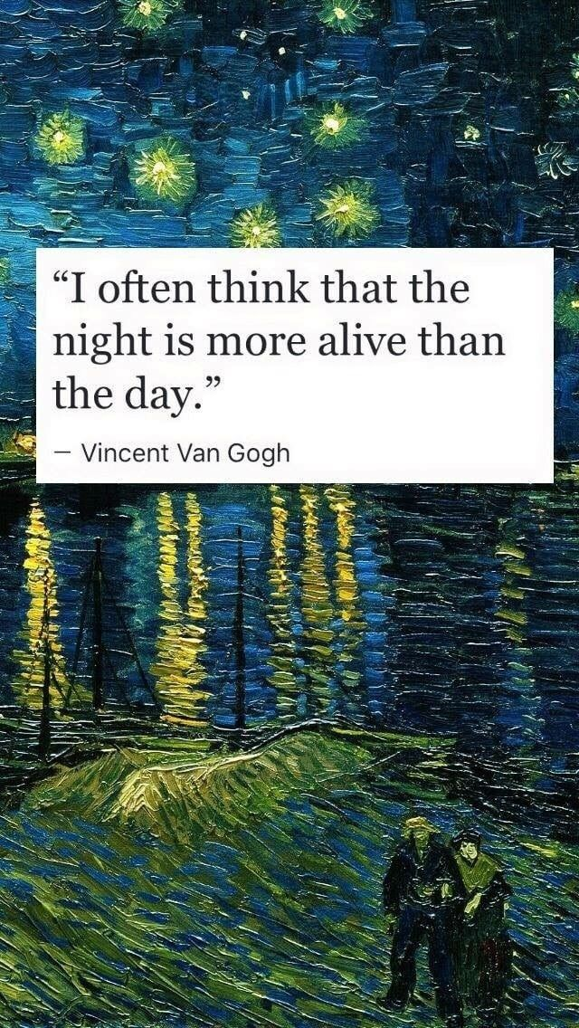 Van Gogh discovered by sayiddom on We Heart It