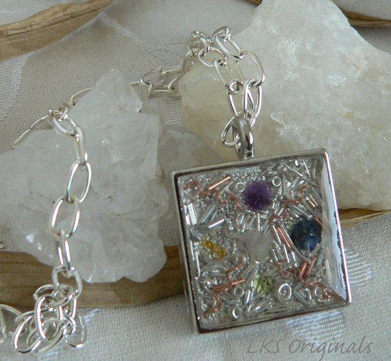 Beautiful and powerful jewelry - Orgonite pendant