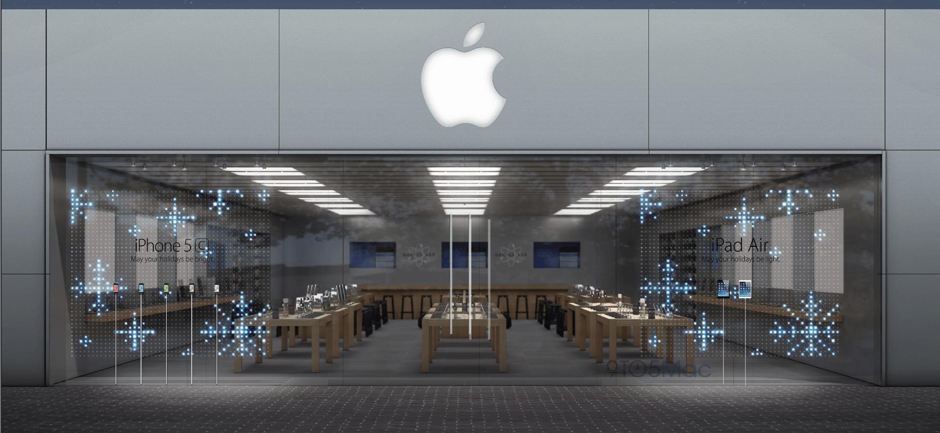 Apple Store Window Display Applestorearchitectureretail Pinned By Www Modlar Com Fenster Auslagen Shop Fassade