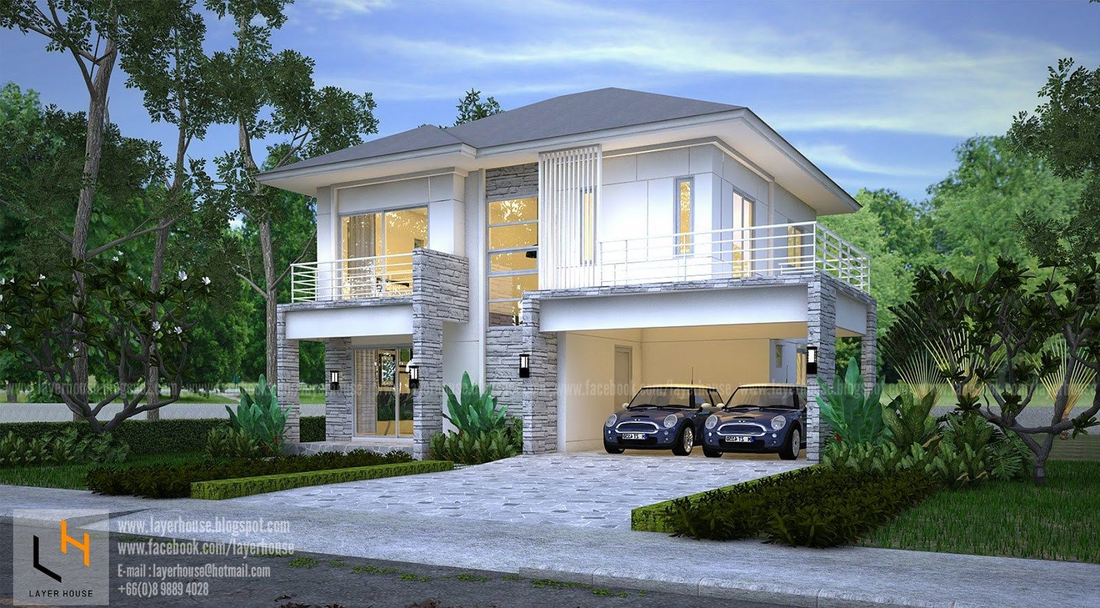 House Plans Idea 11x9m With 3 Bedrooms Samhouseplans In 2020 House Plans House Architecture Design Modern House Plans