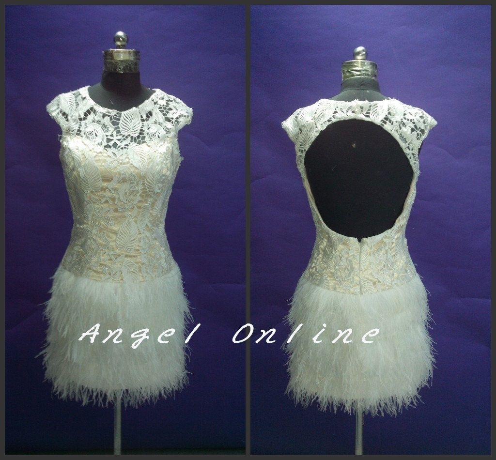 Short Prom Dresses.Lace Prom Dresses.Prom Dresses 2015.Backless Prom Dresses.Cheap Prom Dresses.Sexy Prom Dresses.Plus Size Prom Dress Cheap by Angelonlinedress on Etsy