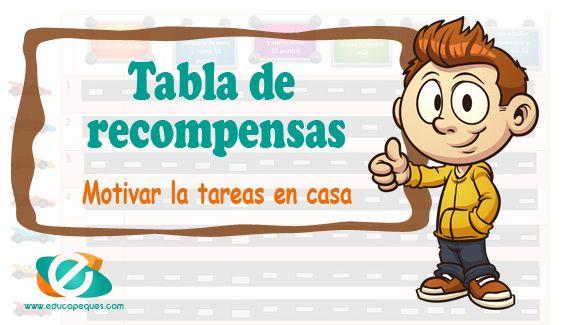 Tablas De Recompensas Beneficios De Recompensar A Un Niño Tabla De Recompensas Recompensas Para Niños Tabla De Recompensas Para Niño
