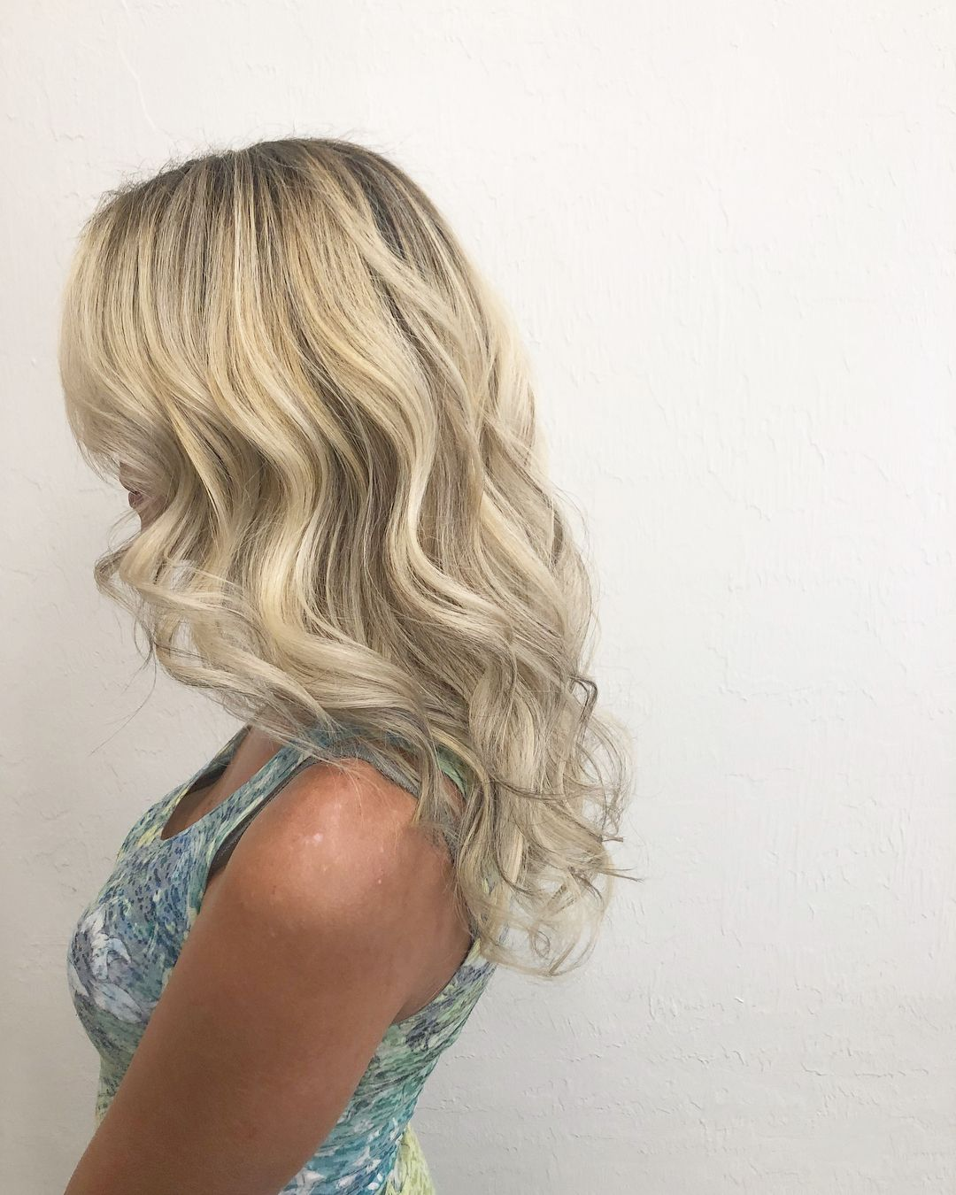 From An At Home Color To A Beautiful Rooted Blonde Colorcorrection Hairinspo Hair Styles Long Hair Styles Hair Inspo