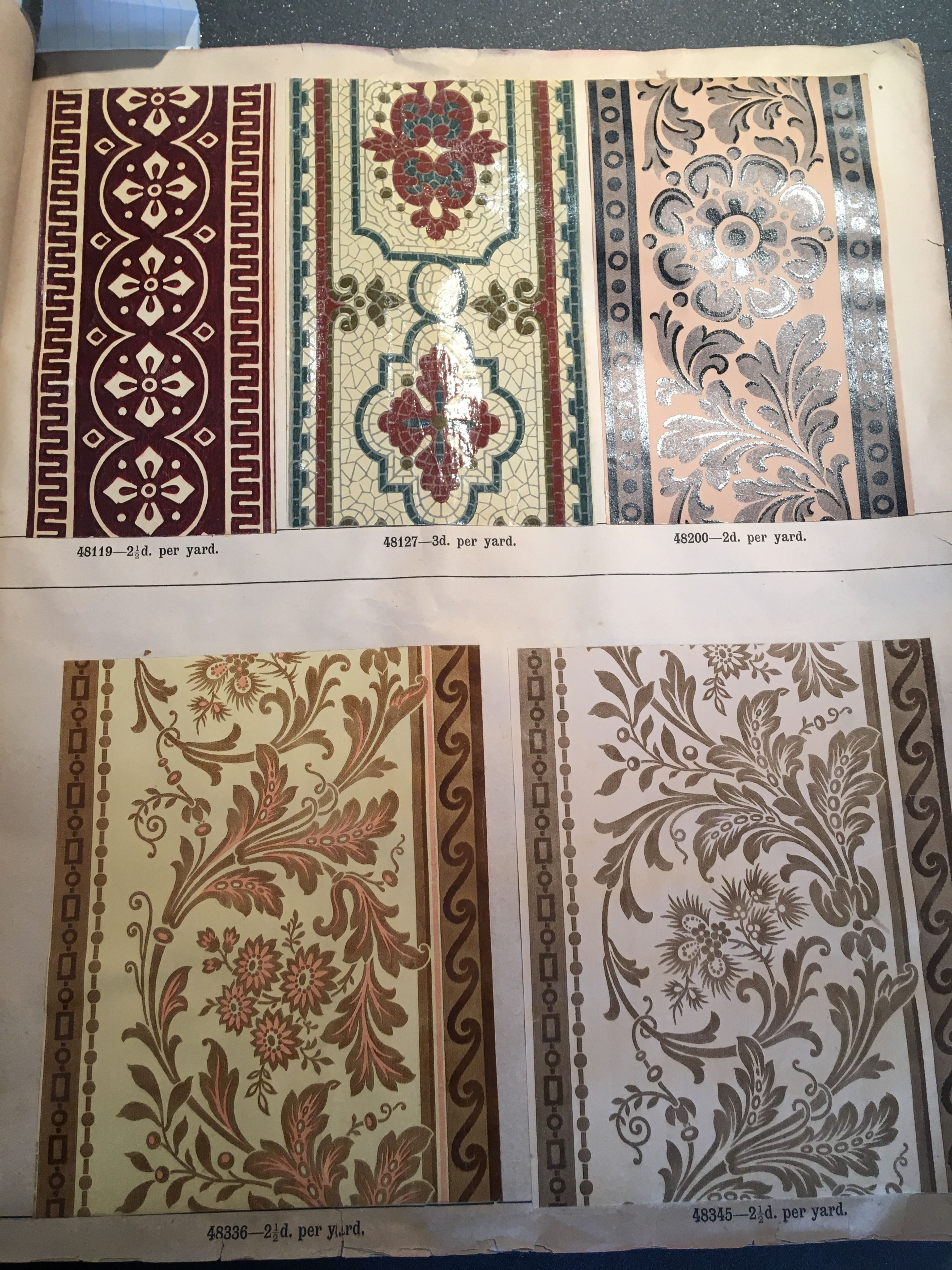 1892 Victorian Wallpaper Borders Victorian Wallpaper Antique Wallpaper Wallpaper Border
