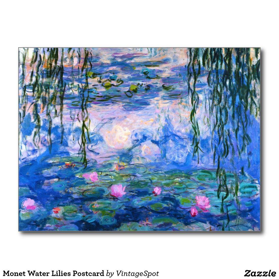Mouse Mat Monet Nenufares Art Original Gift Impressionism