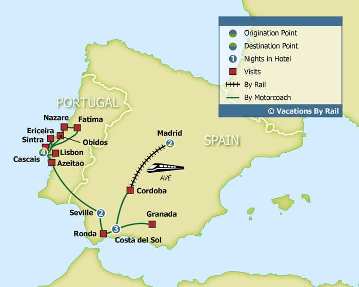 Spain s Costa Del Sol & the Portuguese Riviera