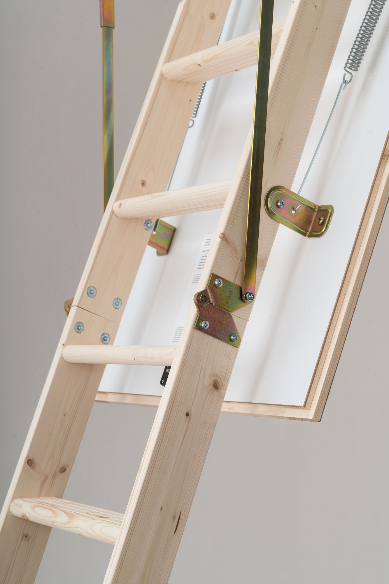 Dolle Hobby Timber Folding Loft Ladder Wooden Timber
