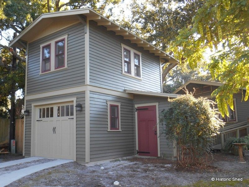 Two-Story Garage with 240 Sq. Ft. Cottage | Garage apartments ...