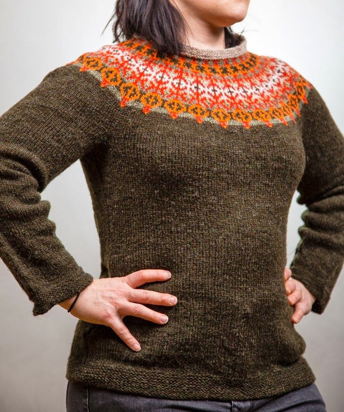 Prosessineuloja: The Helsinki sweater