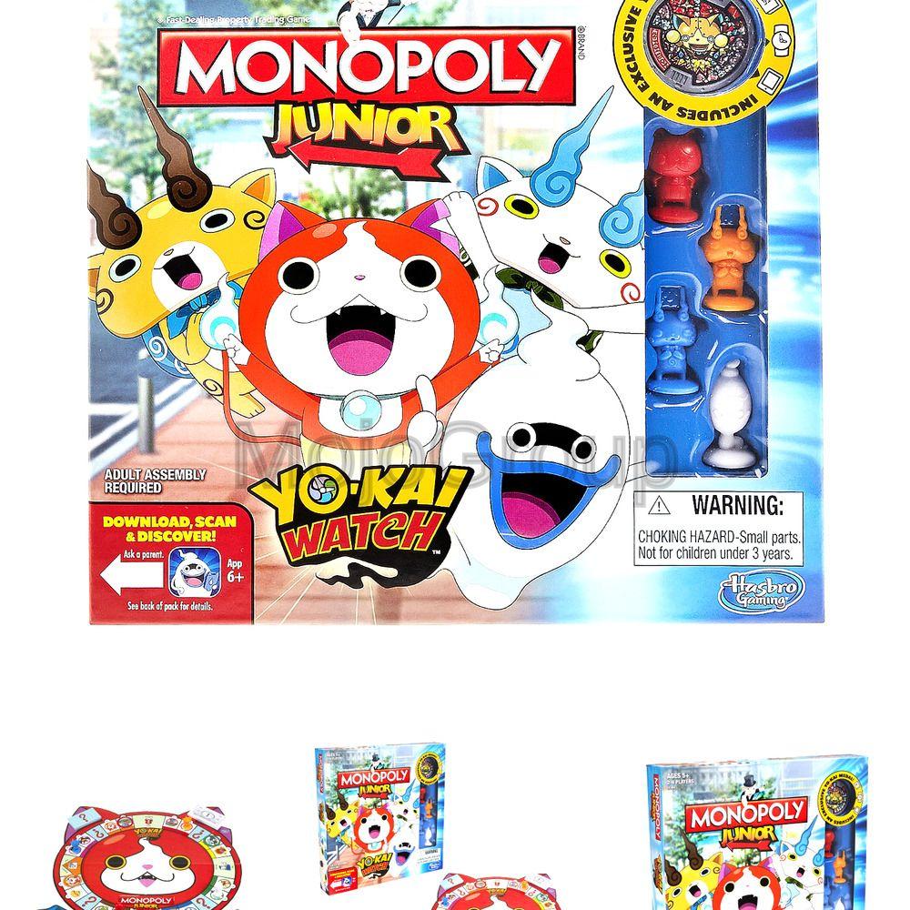 Hasbro B6494 Monopoly Junior Yokai Watch Edition
