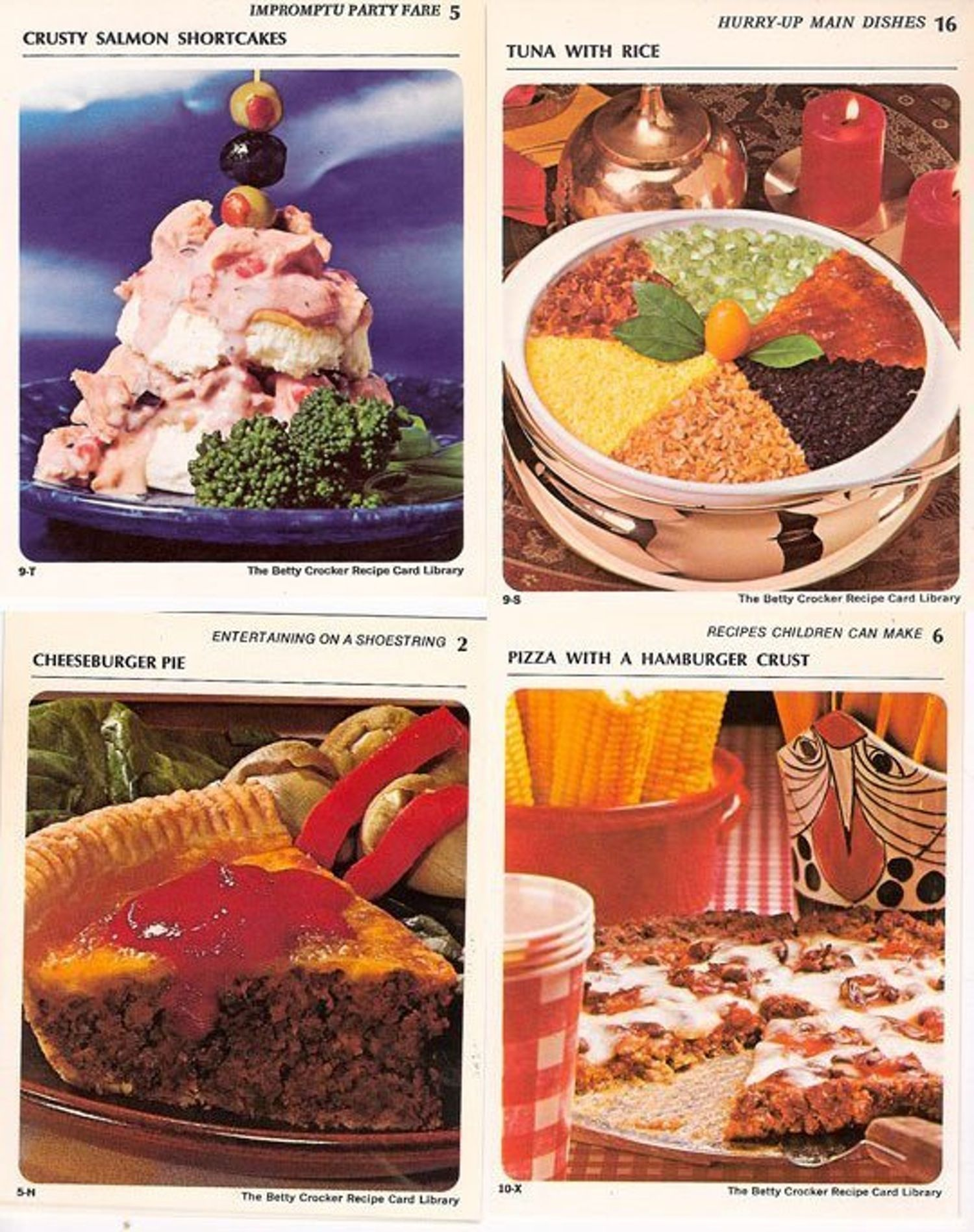 The most under appreciated recipes of the 1970s food writers retro find the 1971 betty crocker recipe card library forumfinder Gallery