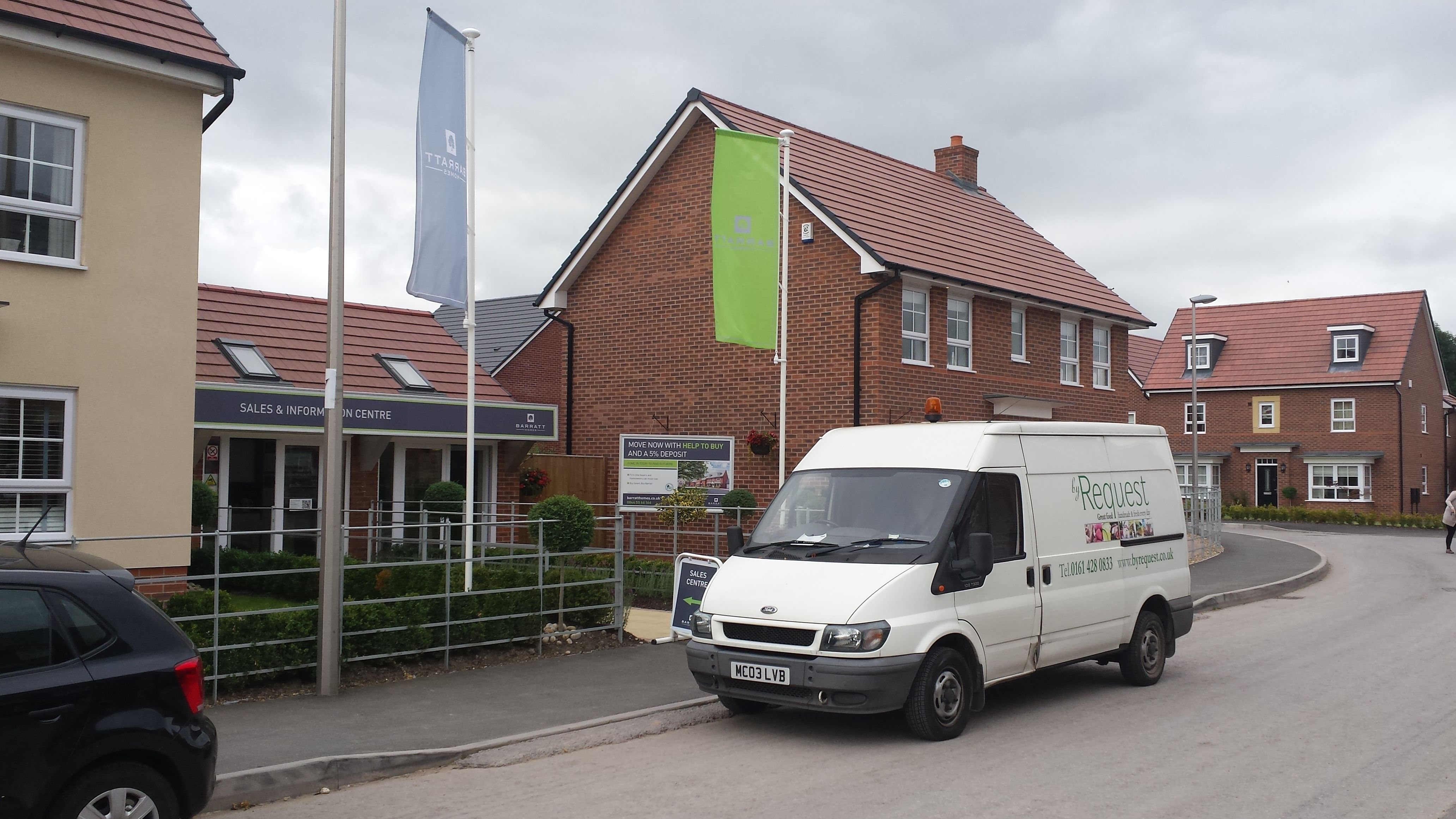 Caterers cheshire new property developments building