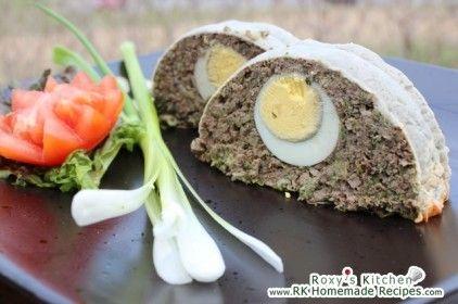 Lamb Haggis / Terrine (Drob de Miel) Mmmm So good!!! ♥