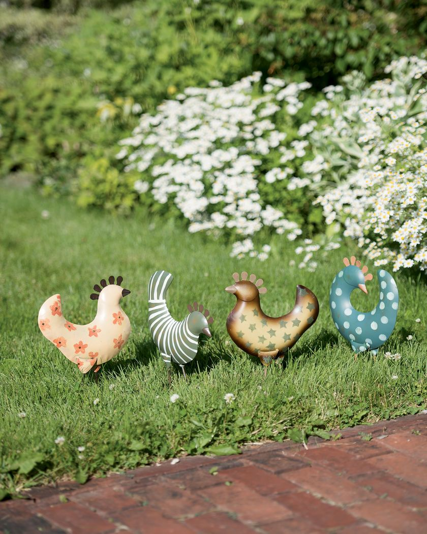 Funky Chicken Garden Accents | Gardener\'s Supply | Home - Outdoors ...
