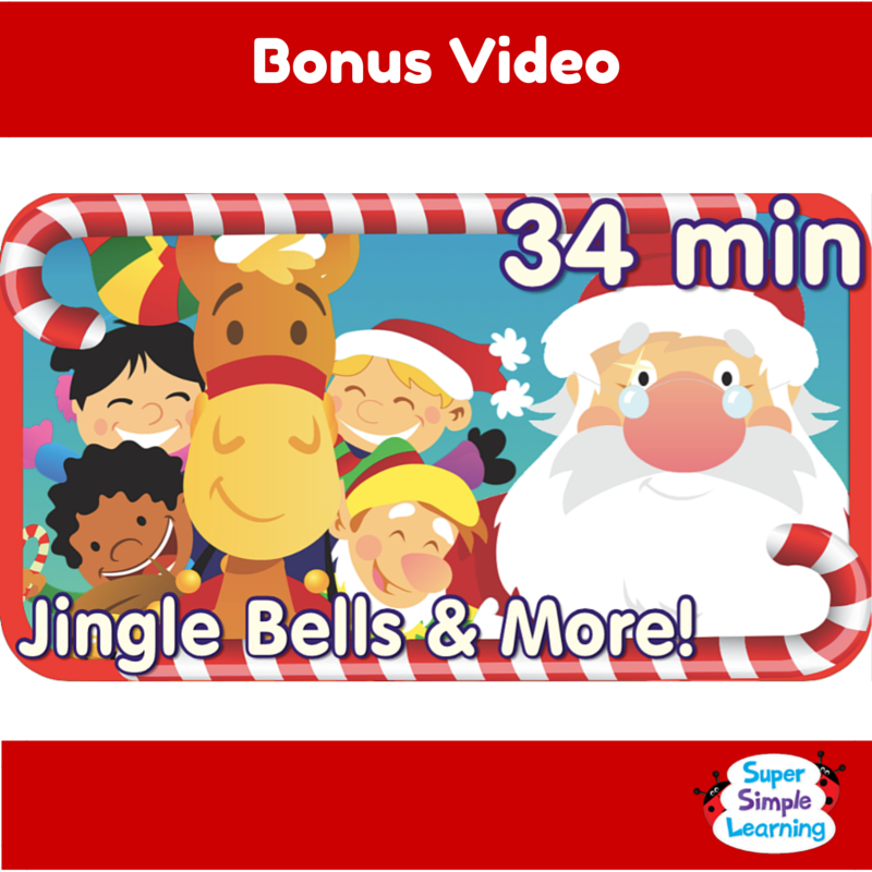 enjoy 34 minutes of super simple songs videos with jingle bells - Super Simple Songs Christmas