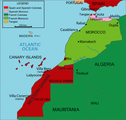 History European Nations Like France Became Involved In Morocco In 1912 France Ruled Morocco Until They Got Their Independence Morocco Casablanca Morocco Map
