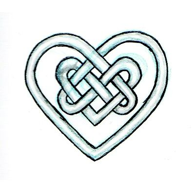 A Celtic Heart Knot Mommy Said Not To Come Back With An Irish Tattoo Or Boyfriend I Think She Needs To Celtic Heart Tattoo Irish Tattoos Celtic Heart Knot
