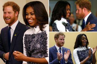 prince Harry and Michelle Obama at invictus games 2015 - Buscar con Google