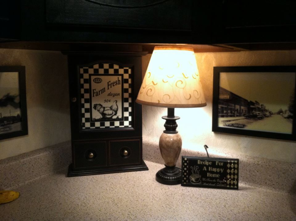 Kitchen Counter Lamp With Images