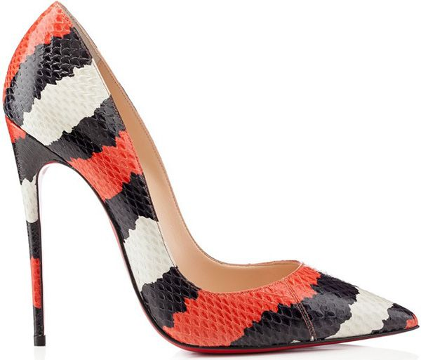 Though we're in the throes of winter, Christian Louboutin has loads of Spring ready shoes on deck, offering laser cuts, lace details, nautical inspired stripes, and spiked embellishments. PVC comes into play on pumps mixing patent and white leather, popping up on panels and playing alongside mirrored silver streaks. Booties are fantastically fun, boasting multicolored […]
