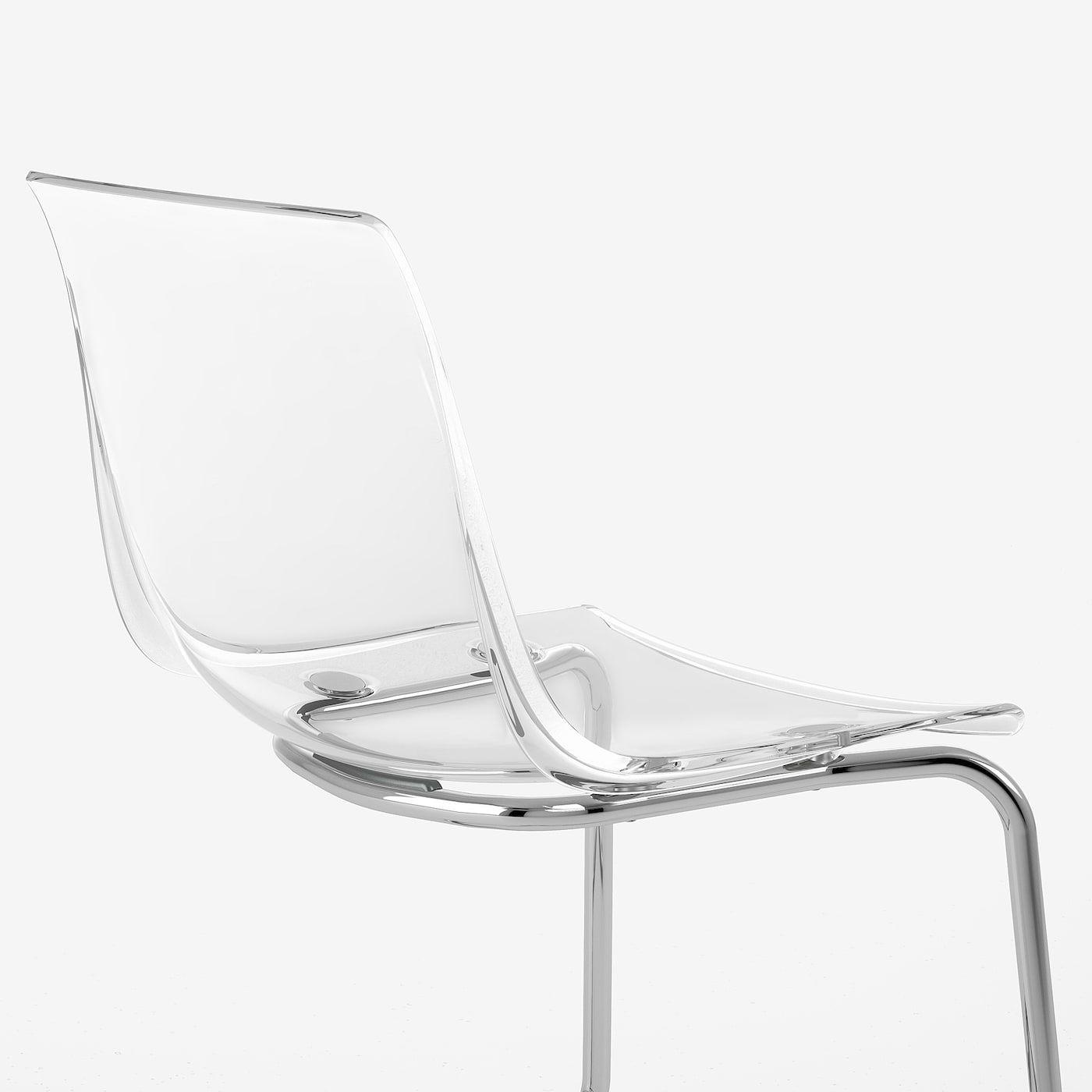 Tobias Stuhl Transparent Verchromt Ikea Osterreich Durchsichtige Stuhle Transparente Stuhle Stuhle