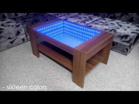 Como Hacer Un Moderno Led Espejo Infinito Hablado Ingles Con Subtitulos En Espanol Youtube Infinity Mirror Infinity Mirror Diy Infinity Mirror Table