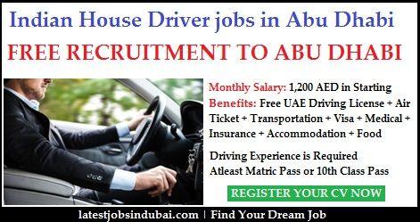 Driver Jobs In Dubai 2019 With Good Salary Package Latest Vacancy Driver Job Job Dubai
