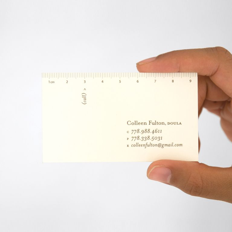 Doula business cards - This could totally work for a nurse-midwife ...