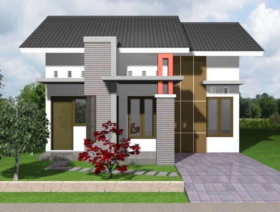 70+ desain rumah type 45 minimalis 1 lantai & 2 lantai ...