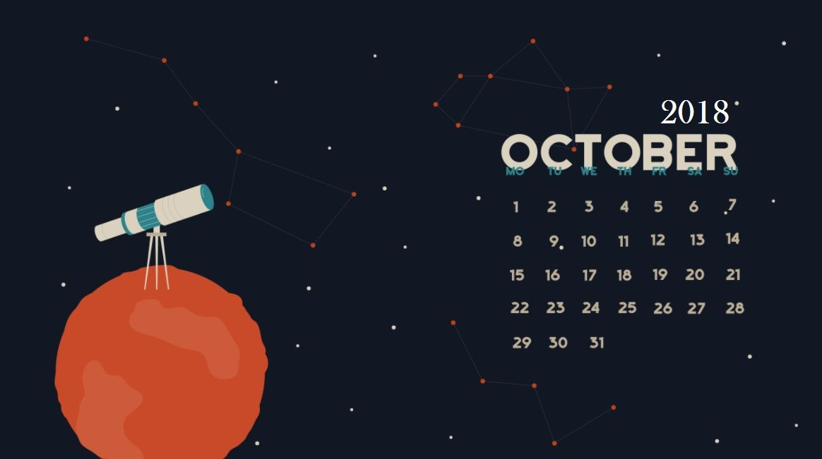 Cute Fall Wallpaper Iphone 5 October 2018 Desktop Calendar Calendar Pinterest