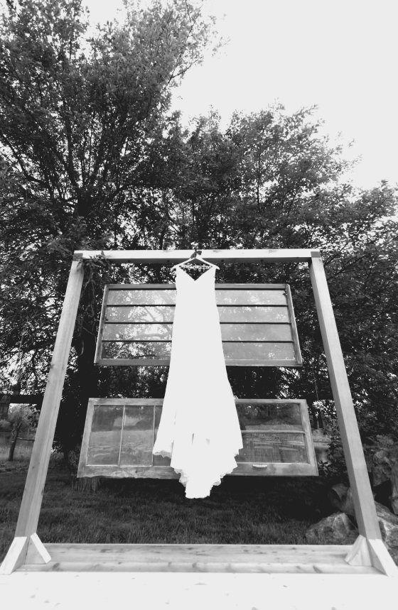 Farm Vintage Rustic Wedding dress