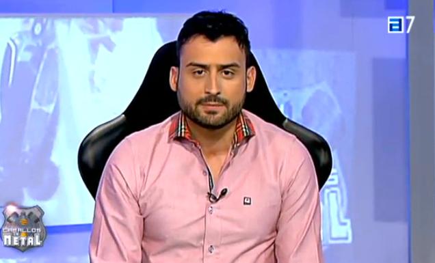 Y otro guapo, #HectorAlonso, presentador de #CaballosDeMetal en #TPA también viste con #LaQuintaDelSol