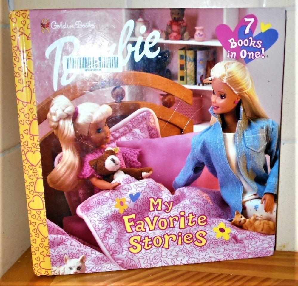 Look-Look: Barbie : My Favorite Stories Bind-up Book By