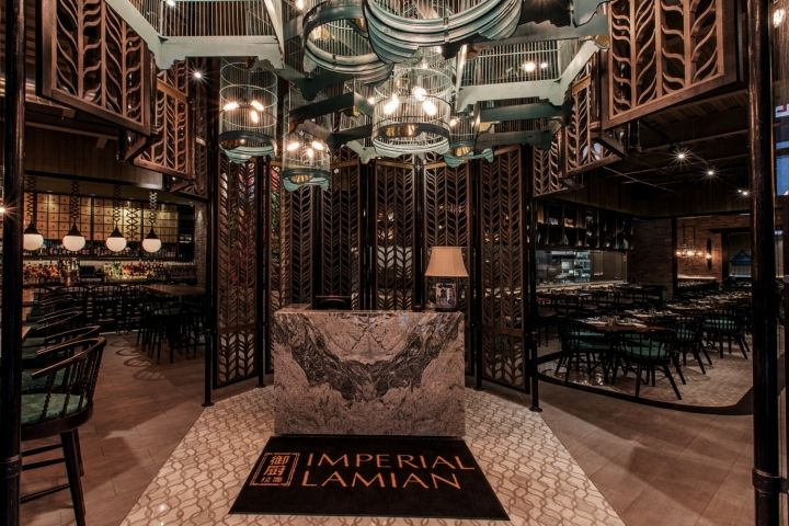 Imperial Lamien Restaurant By Metaphor Interior, Chicago – Illinois » Retail Design Blog