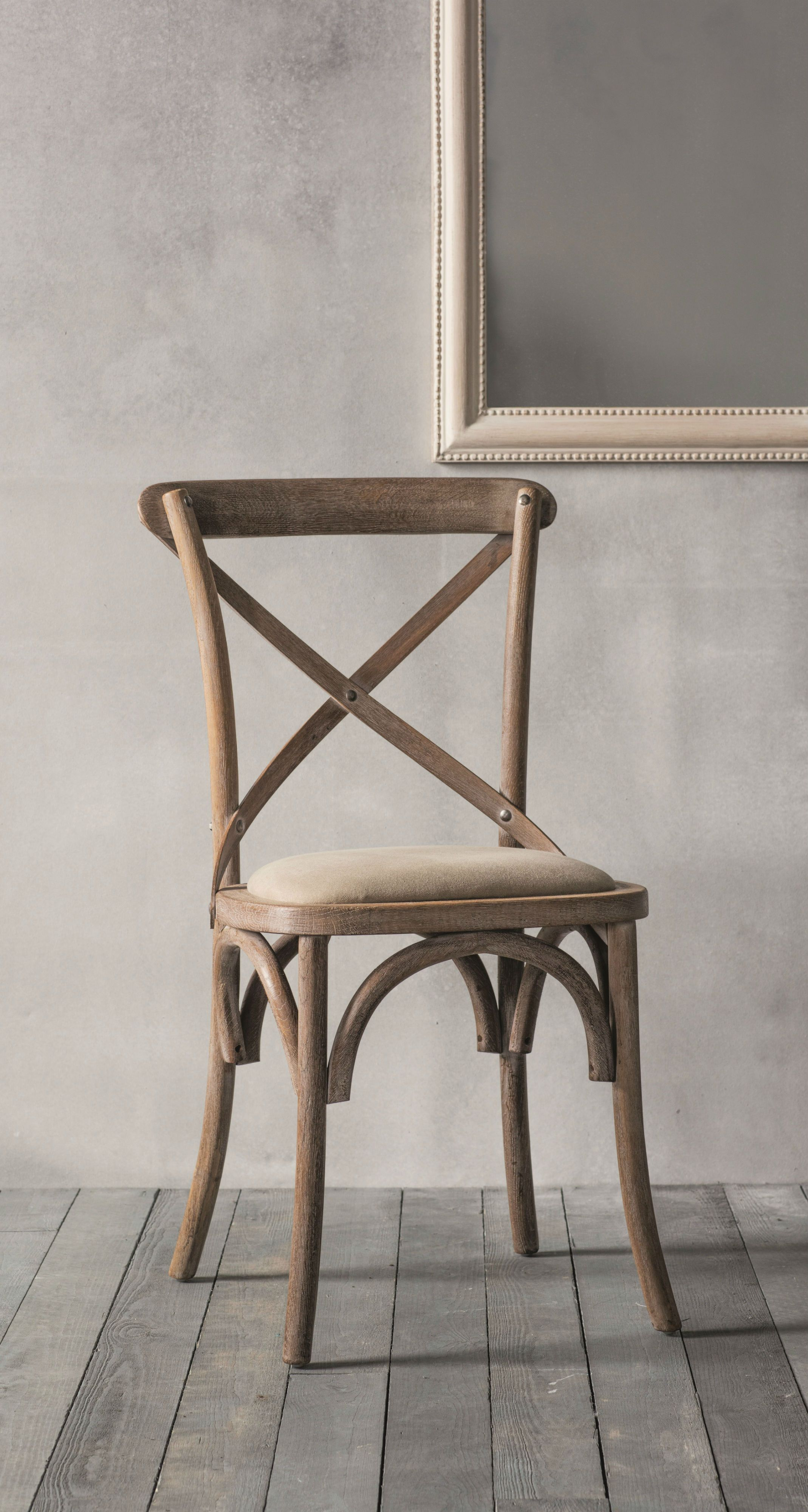 Rustic Style Caf Chair For Your Dining Room Featuring