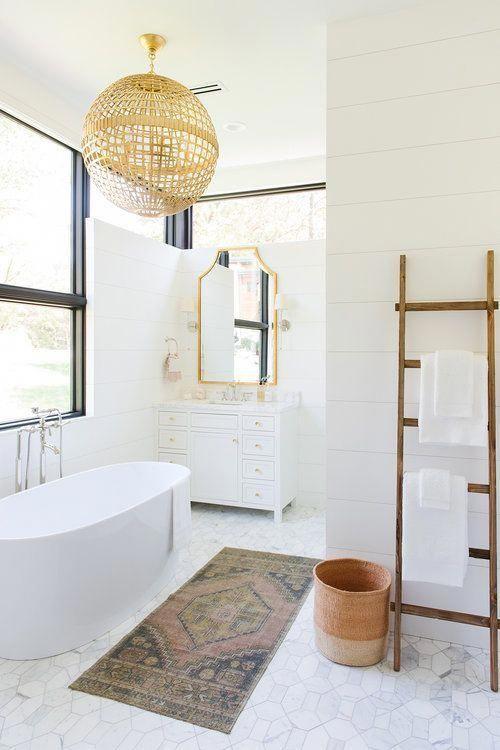 Photo of #AllWhite #Bathroom #bathroom design #bathroom des… #guest bathroom ideas Colo…