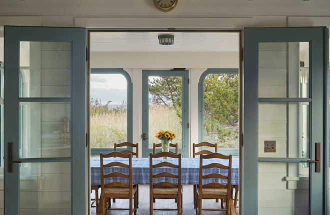 Farrow and Ball Dix Blue.  Dearborn Builders.  Interiors by Tory Haynes.