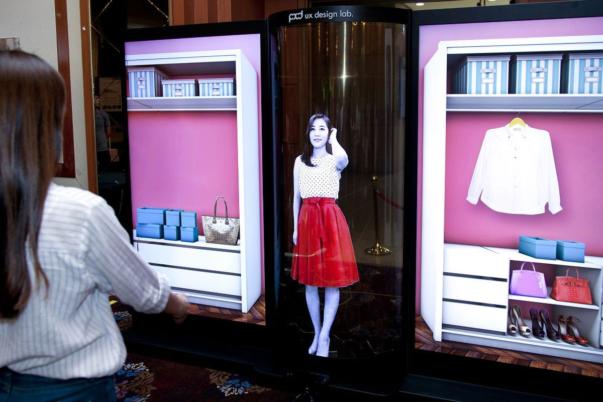 lg s latest ridiculous oled screen is transparent flexible and