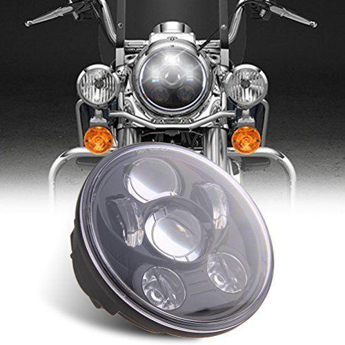 5 3 4 5 75 Daymaker Led Headlight For Harley Davidson Motorcycle Headlamp Projector Driving Light Htt Harley Davidson Images Led Headlights Harley Davidson