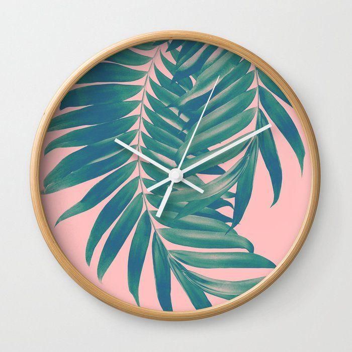 Palm Leaves Blush Summer Vibes #4 #tropical #decor