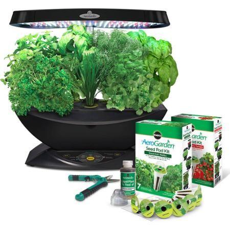 Miracle Gro Aerogarden 7 Led With Gourmet Herbs Seed Pod 400 x 300