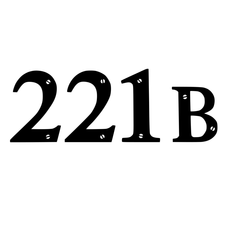 221B Sherlocked Die-Cut Decal Car Window Wall Bumper Phone Laptop (3.00 USD) by BeeMountainGraphics