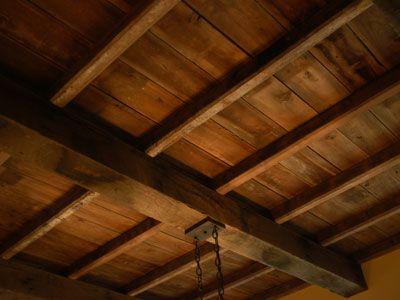 Antique Reclaimed Rough Sawn Beams Wood Ceilings Wood
