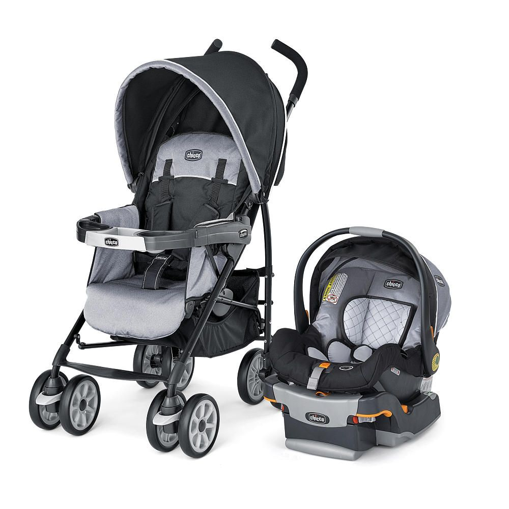Chicco travel system with infant car seat, car base and stroller ...