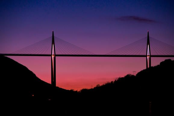 The Millau Viaduct - Norman Foster and French structural engineer, Michael Virlogeux